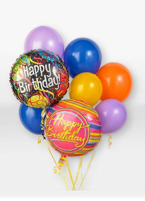 Accents By Jenny Birthday Balloon Bouquet Park Ridge IL 60068 FTD Florist Flower And Gift Delivery